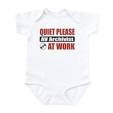 AV Archivist Work Infant Bodysuit