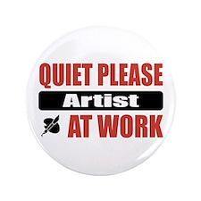 """Artist Work 3.5"""" Button"""
