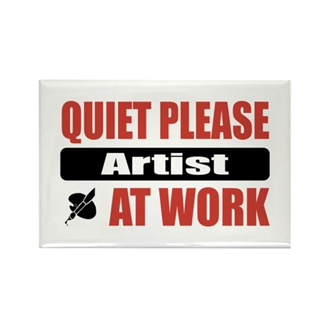 Artist Work Rectangle Magnet (100 pack)