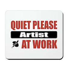 Artist Work Mousepad