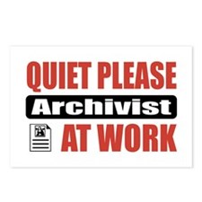 Archivist Work Postcards (Package of 8)