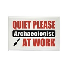 Archaeologist Work Rectangle Magnet