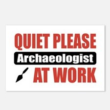 Archaeologist Work Postcards (Package of 8)