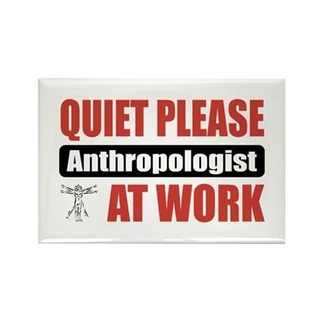 Anthropologist Work Rectangle Magnet (10 pack)