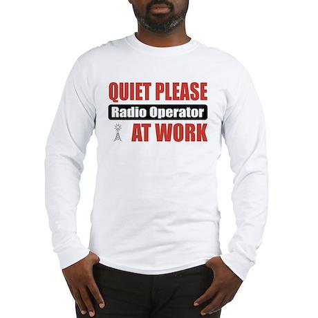 Radio Operator Work Long Sleeve T-Shirt