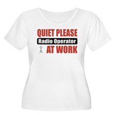 Radio Operator Work T-Shirt