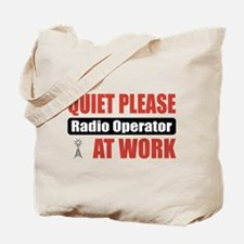 Radio Operator Work Tote Bag