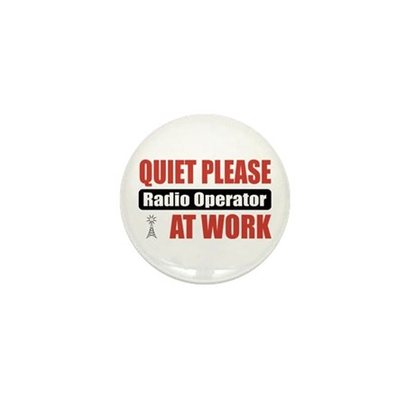 Radio Operator Work Mini Button (100 pack)