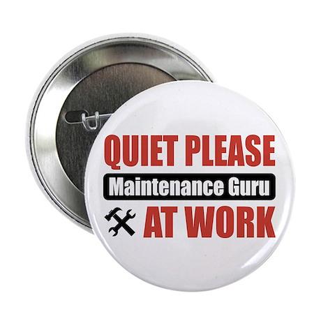 "Maintenance Guru Work 2.25"" Button (10 pack)"