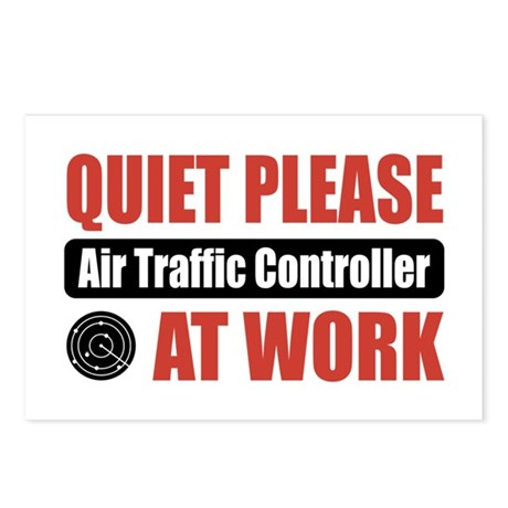 Air Traffic Controller Work Postcards (Package of