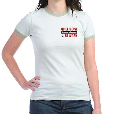 Aerospace Engineer Work Jr. Ringer T-Shirt