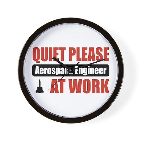 Aerospace Engineer Work Wall Clock