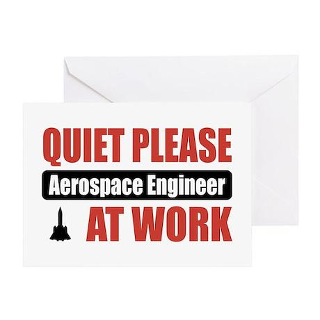 Aerospace Engineer Work Greeting Card