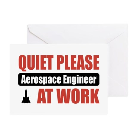 Aerospace Engineer Work Greeting Cards (Pk of 10)