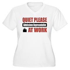 Admissions Representative Work T-Shirt