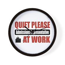 Admissions Representative Work Wall Clock