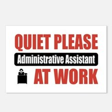 Administrative Assistant Work Postcards (Package o