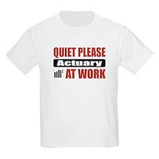 Actuary Work T-Shirt