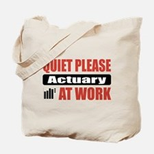 Actuary Work Tote Bag