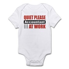 Accountant Work Infant Bodysuit