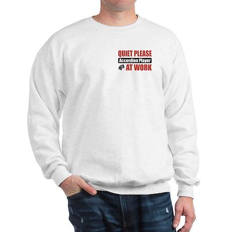 Accordion Player Work Sweatshirt