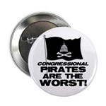 "Congressional Pirates 2.25"" Button (100 pack)"