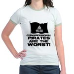 Congressional Pirates Jr. Ringer T-Shirt