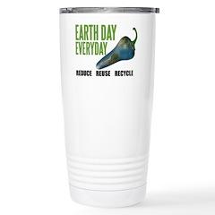 Earth Day Global Warming Travel Mug