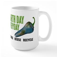 Earth Day Global Warming Mug