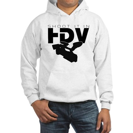 HDV Novelty Hooded Sweatshirt