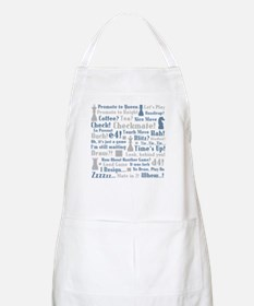 Chess Expressions BBQ Apron
