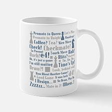 Chess Expressions Mug