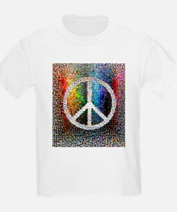 Cute Love peace happiness T-Shirt