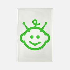 ALIEN BABY Rectangle Magnet (10 pack)