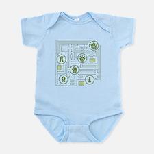 Chess Circuit Infant Bodysuit