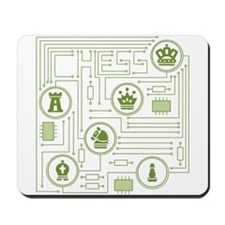 Chess Circuit Mousepad