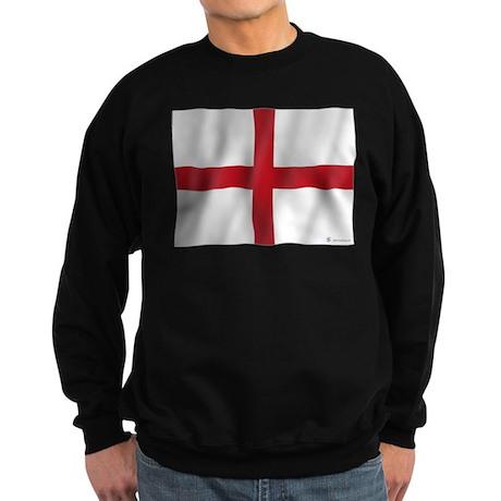 Pure Flag of England Sweatshirt (dark)