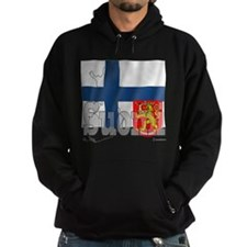 Silky Flag of Suomi Hoodie