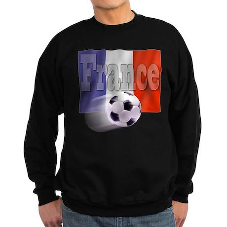 Soccer Flag France Sweatshirt (dark)