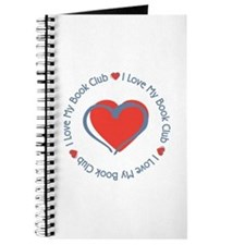 I Love My Book Club Journal