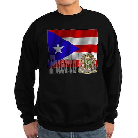 Silky Flag Puerto Rico Sweatshirt (dark)