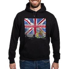 Silky Flag of UK Hoodie