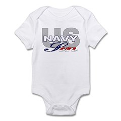US Navy Son Infant Creeper