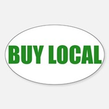 Buy Local Oval Decal