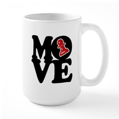 Chess MOVE Large Mug