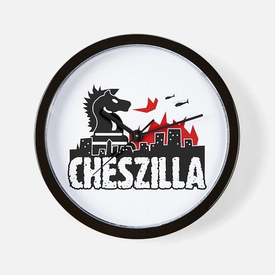 Chess Zilla 2 Wall Clock