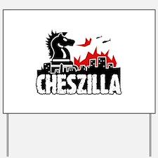Chess Zilla 2 Yard Sign