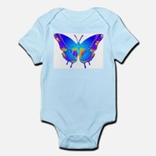 Blue Butterfly Infant Creeper