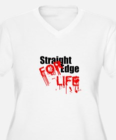 Straight Edge For Life T-Shirt
