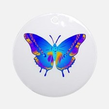 Blue Butterfly Keepsake (Round)